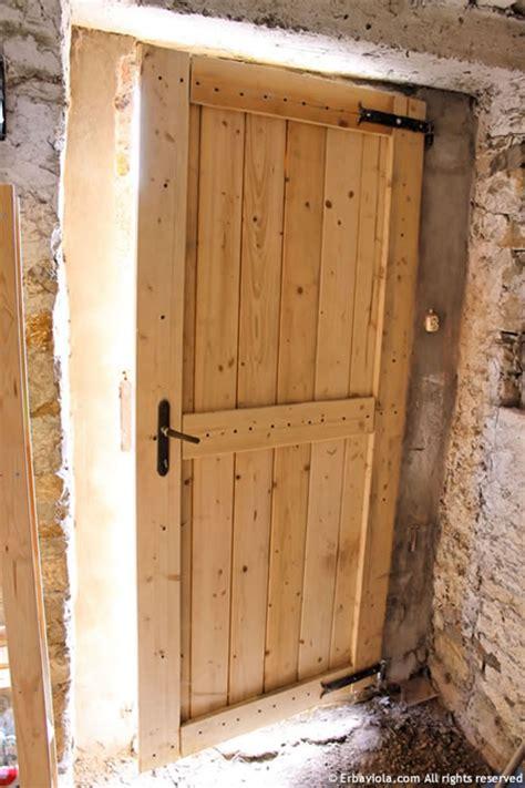 come costruire una porta in legno massello porta in legno archives erbaviola grazia cacciola