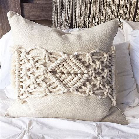 macrame pillow macrame macrame pillow pillows throw pillow