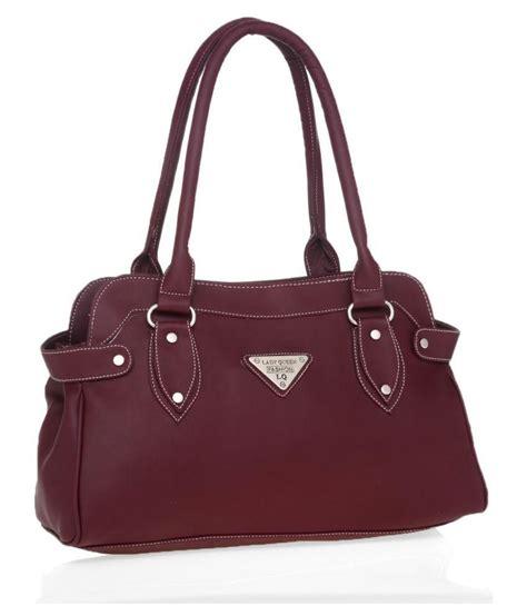 Queen Purse by Lady Queen Maroon Shoulder Bag Buy Lady Queen Maroon