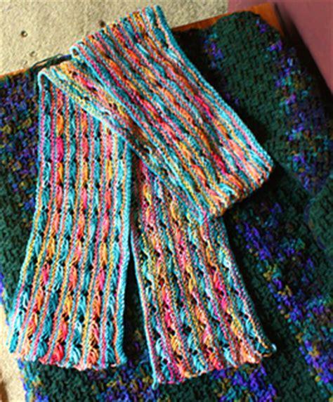 cross stitch knitting pattern scarf ravelry koigu cross stitch scarf pattern by doublepointed