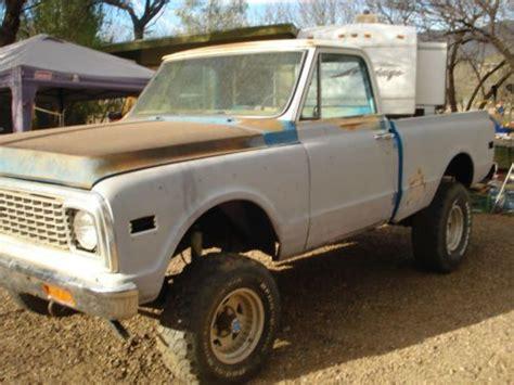 short bed truck cer craigslist find used 1972 chevy cheyenne super short bed 4x4 truck in