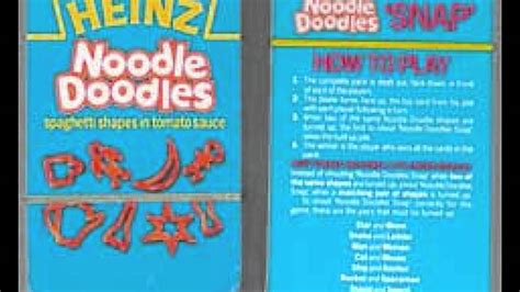 noodle and doodle time with heinz noodle doodles