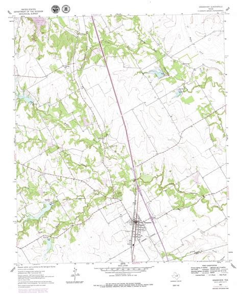 grandview texas map grandview topographic map tx usgs topo 32097c2