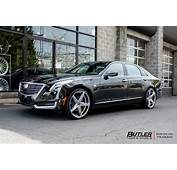 Cadillac CT6 With 22in Lexani R Four Wheels Exclusively