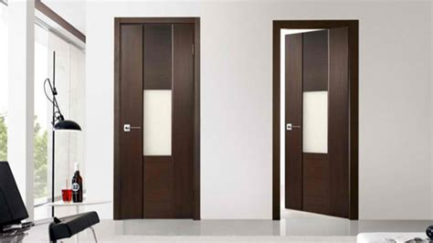 latest bedroom door designs 15 wooden panel door designs home design lover