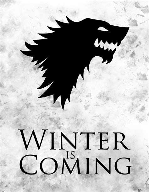 thrones coloring book winter is coming of thrones winter is coming by letgodesign on deviantart