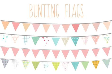 Bunting Banner No 14 by Bunting Clipart Bunting Pencil And In Color