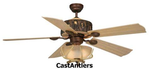 antler chandelier ceiling fan standard size fans 52 quot rustic faux antler ceiling fan