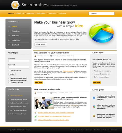 free website templates for articles links pile up 55 free psd website templates on deviantart