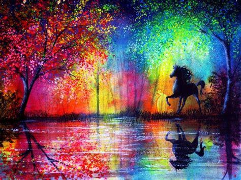 imagenes hermosas y coloridas hermosas y coloridas pinturas por la ilustradora ann marie