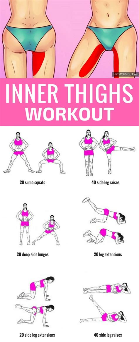 inner thigh workout at home