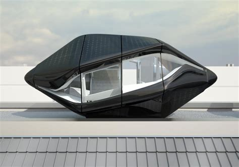 future home designs and concepts nau architects unveil self sustaining quot living roof quot pod