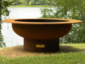 saturn wood burning pit by firepit - Wood Pits