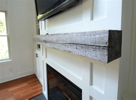 install fireplace mantel how install a barn beam mantel decor and the