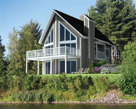Lakefront Home Plans by Cabin Style House Plan 3 Beds 1 Baths 1245 Sq Ft Plan