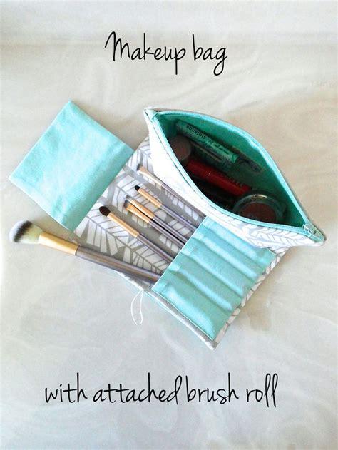 Tas Roll Makeup 17 best ideas about sewing makeup bag on diy