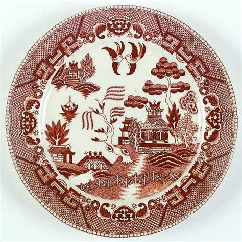 brown willow pattern japan willow brown at replacements ltd