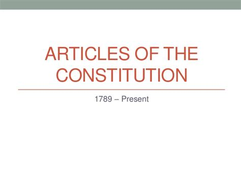 article 1 section 5 of the constitution articles of the constitution
