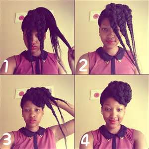 new type of twists with steps 10 instructions directing you on how to style box braids