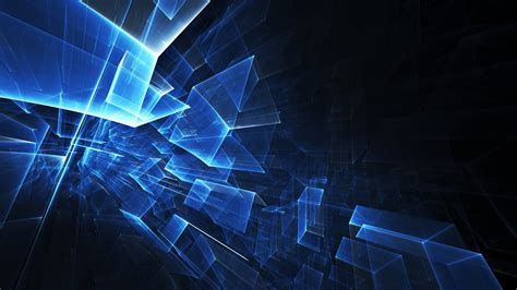full hd wallpaper cube structure  neon desktop
