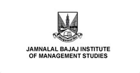 Jamnalal Bajaj College Part Time Mba by जमन ल ल बज ज इ स ट ट य ट ऑफ म न जम ट स टड ज म द स ल क