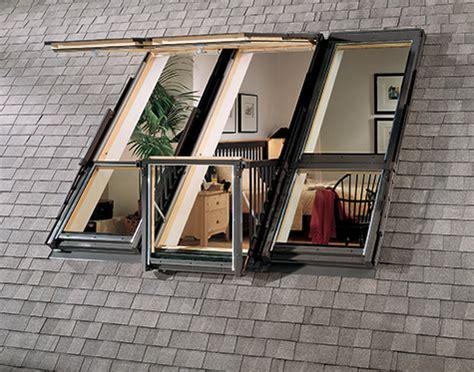 velux roof balcony windows lofty terrace beautiful