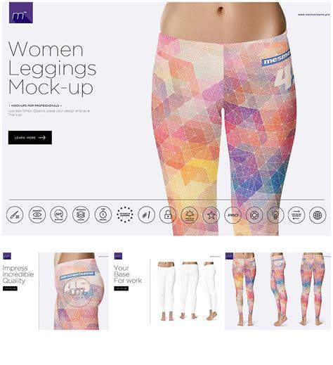 mockup yoga design leggins mockup set free download
