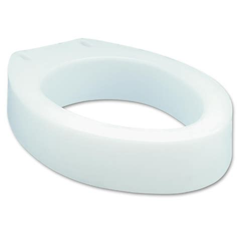 elevated toilet seat carex elevated toilet seat 3 5 quot on sale with unbeatable