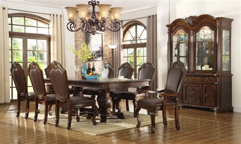chateau traditional formal dining room furniture set free shipping shopfactorydirect