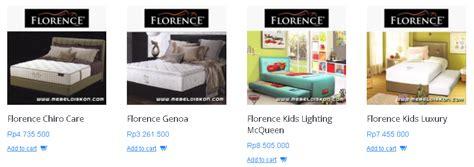 Bed Florence Murah informasi toko bed murah daftar harga bed