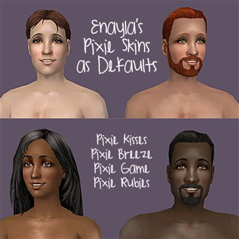 sims 3 default replacement skin mod the sims default skin replacements enayla pixie skins