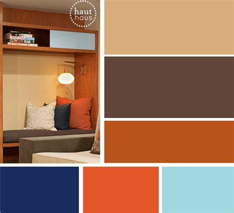 contemporary color scheme mid century modern a design blog