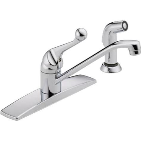 older delta kitchen faucets delta classic single handle standard kitchen faucet with