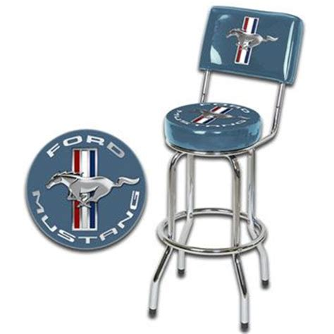ford bar stool with backrest 109 best images about mustang gear on logos