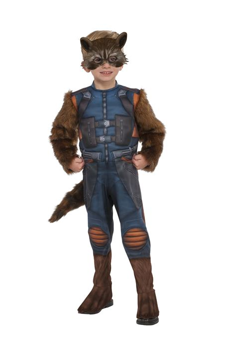 rocket raccoon costume deluxe toddler rocket raccoon costume from guardians of the galaxy
