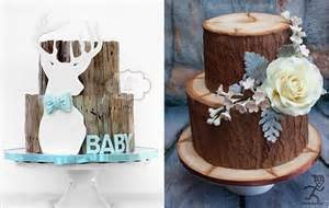 Wood Slices For Centerpieces by Birch Tree Wedding Cakes Amp Woodgrain Effects Cake Geek