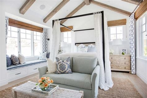 beach master bedroom coastal style newport beach house