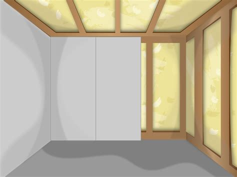 insulate  shed  pictures wikihow