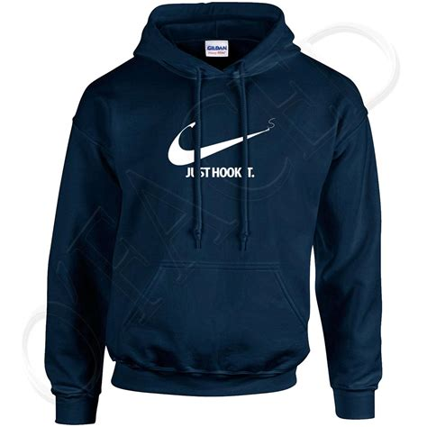 Jaket Hodie Navy Just Do It just hook it mens hooded sweatshirt cool fishing hoodie 1188c ebay