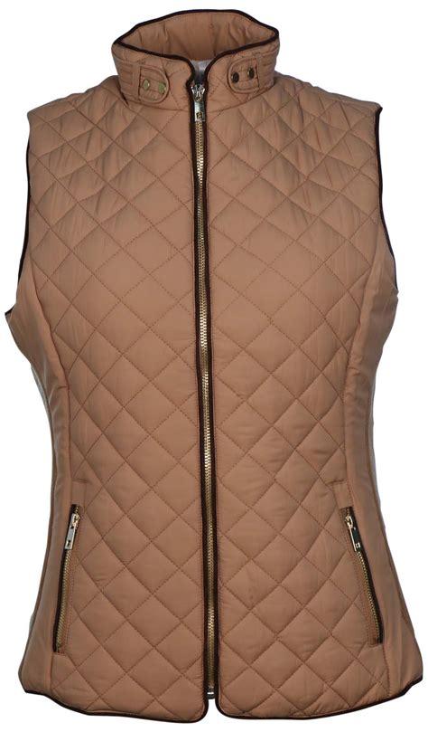 Quilted Zip Vest by True Rock S Carol Quilted Zip Vest Ebay