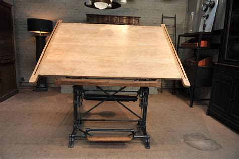 architects drafting table optima adjustable architect s drafting table 1900s