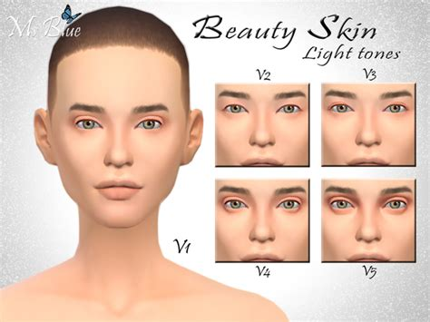 sims 4 skin beauty skin by ms blue at tsr 187 sims 4 updates