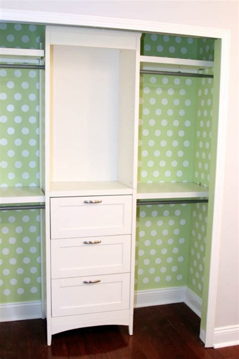 wallpaper closet closet organizing hacks tips
