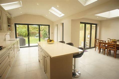 kitchen extension with kitchen island flickr photo