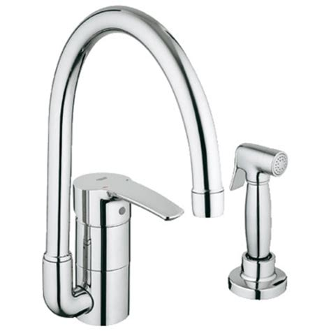 aiken single hole kitchen faucet with side spray kitchen grohe eurostyle single handle single hole standard kitchen
