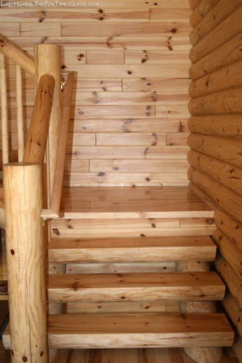 Log Cabin Stairs by How We Chose A Log Staircase For Our Log Cabin Times