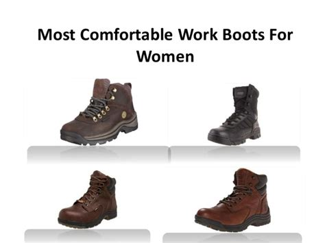 most comfortable shoes to work in most comfortable work boots for women