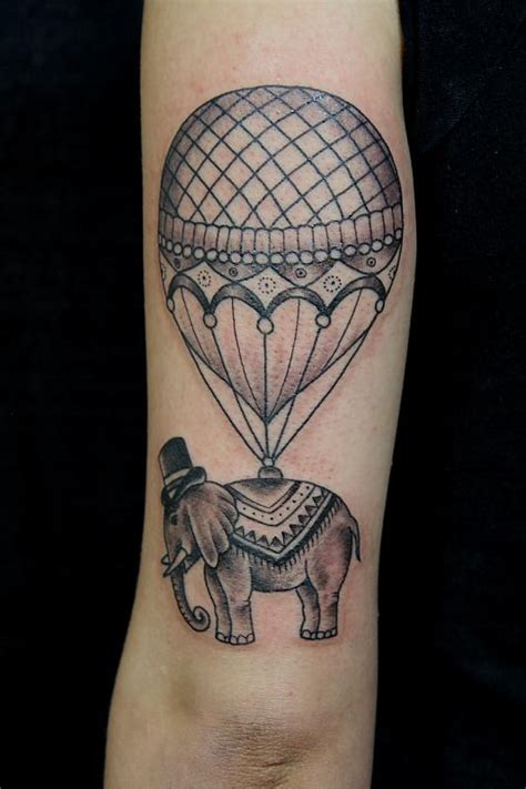elephant balloon tattoo balloon tattoo images designs