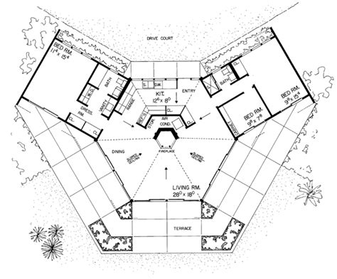 octagon floor plans octagon house plans at coolhouseplans