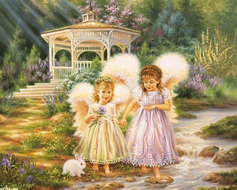 pictures  angels  flowers angel sisters angel